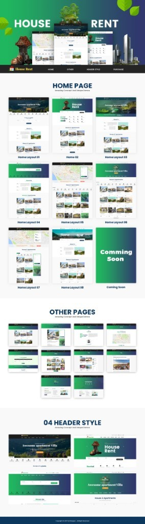 website theme for real estate